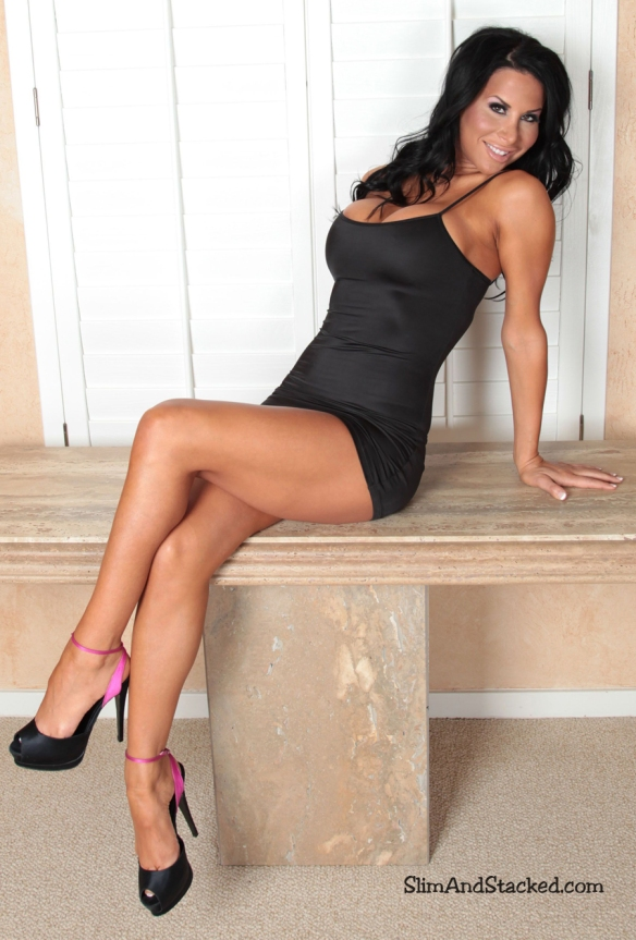 Sophia Bella's gorgeous face, stunning legs and fantastic figure are all shown to perfection as she barely wears a little black dress.  Own the entire set at ultra-high quality, 3000-pixel resolution.  Contact dezertimagez@gmail.com for pricing.