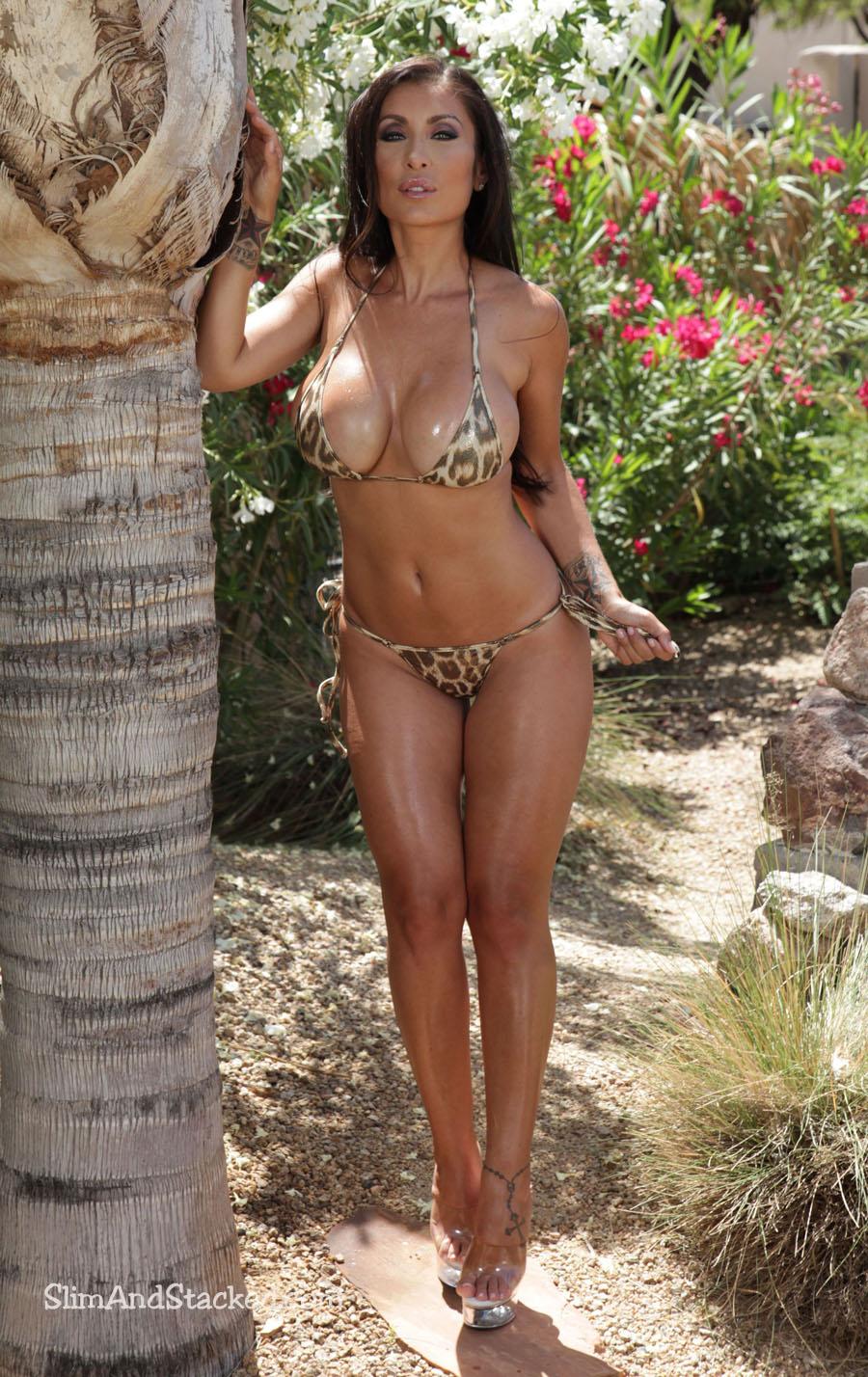 Jessica canizales in tiny bikini